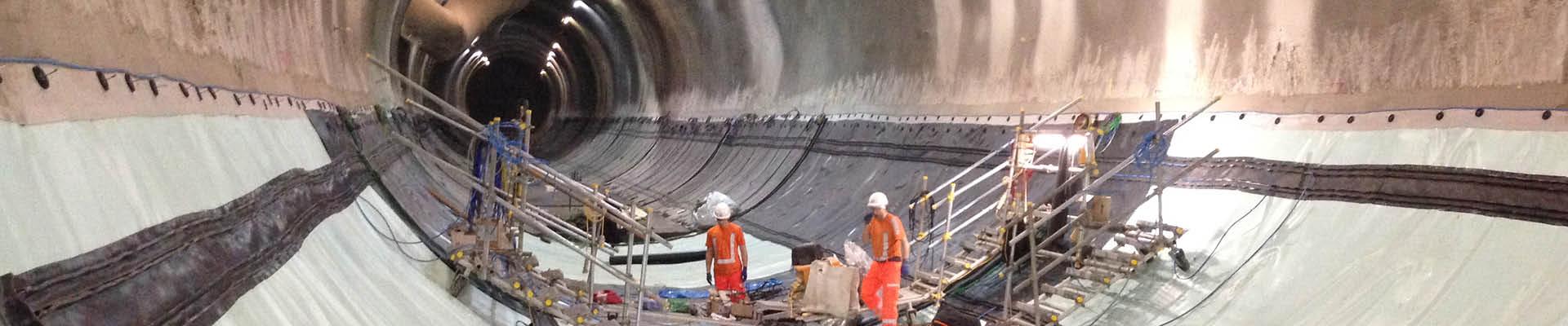 kunststof waterdichting tunnel londen