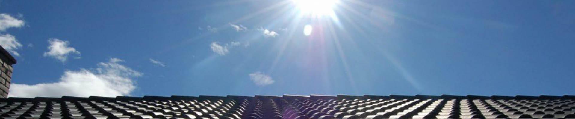 daken beschermen hitte