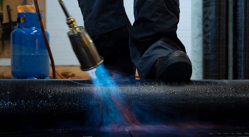 bitumen branden starters cursus