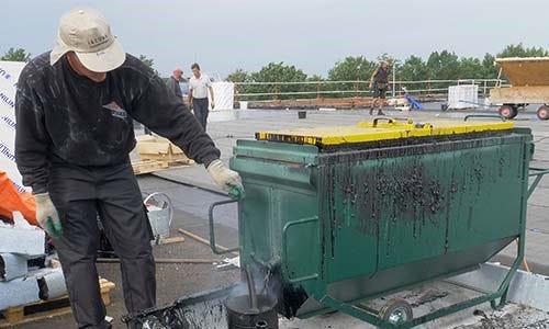 Bitumenketel voor dakbedekking | Soprema